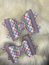Load image into Gallery viewer, Easter Plaid Hair Bow