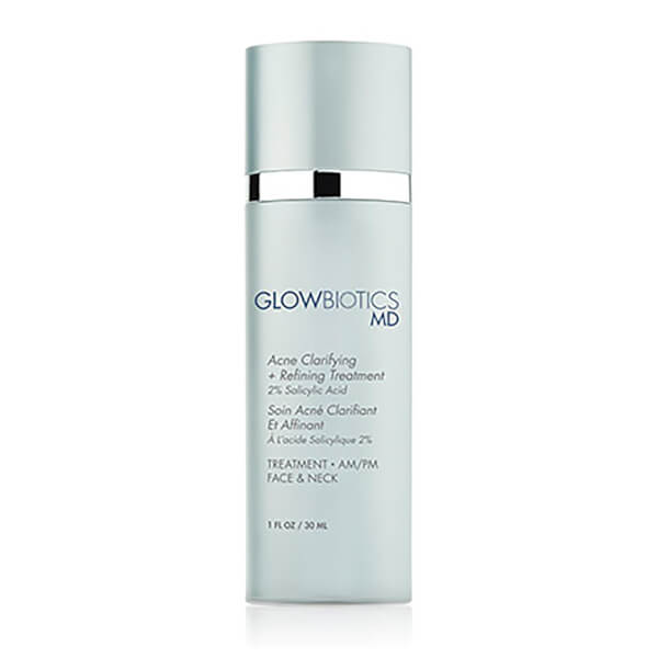 Glowbiotics MD Acne Clarifying Refining Treatment 2% Salicylic Acid