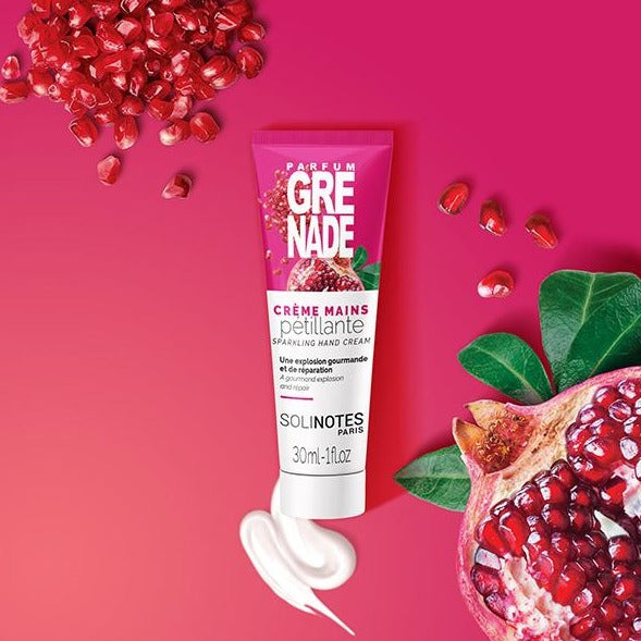 Solinotes hand cream pomegranate 1 ounce shop now on exclusive beauty club