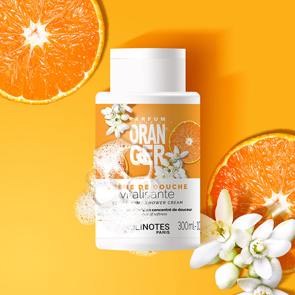 solinotes paris revitalizing shower cream orange blossom shop now on exclusive beauty club