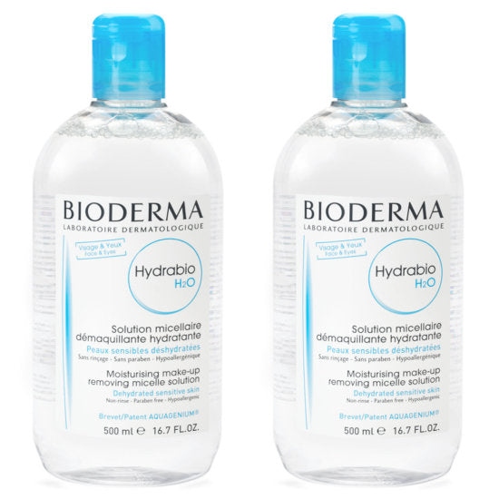 Bioderma Hydrabio H2O Micellar Water on Exclusive Beauty Club shop online skin care