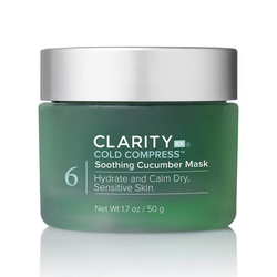 ClarityRx Cold Compress – Soothing Cucumber Mask Exclusive Beauty Club Skincare