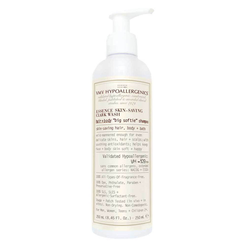 "VMV HYPOALLERGENICS Essence Skin-Saving Clark Hair + Body ""Big Softie"" Shampoo"