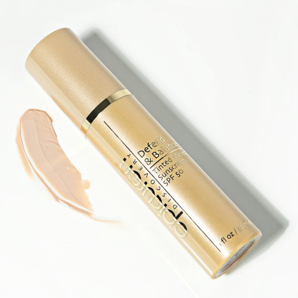 Epicuren Discovery Defend and Balance Tinted Mineral Sunscreen SPF 50 Shop Sunscreen On Exclusive Beauty Club