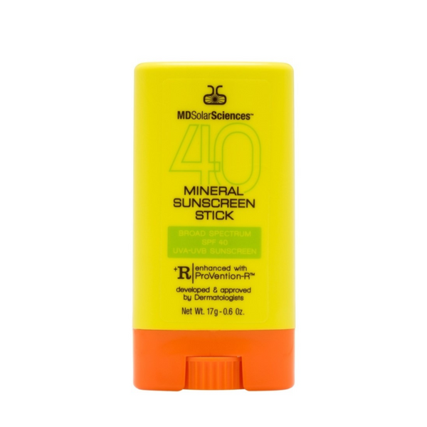 MD Solar Sciences Mineral Sunscreen Stick SPF 40 on Exclusive Beauty Club shop online skin care