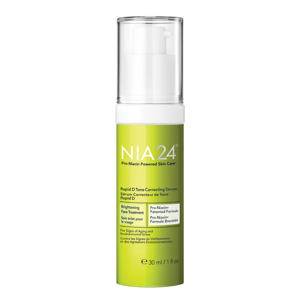 NIA24 Rapid D Tone Correcting Serum on Exclusive Beauty Club shop online skin care