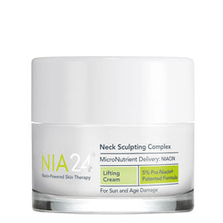 NIA24 Neck Sculpting Complex on Exclusive Beaut Club shop online skin care