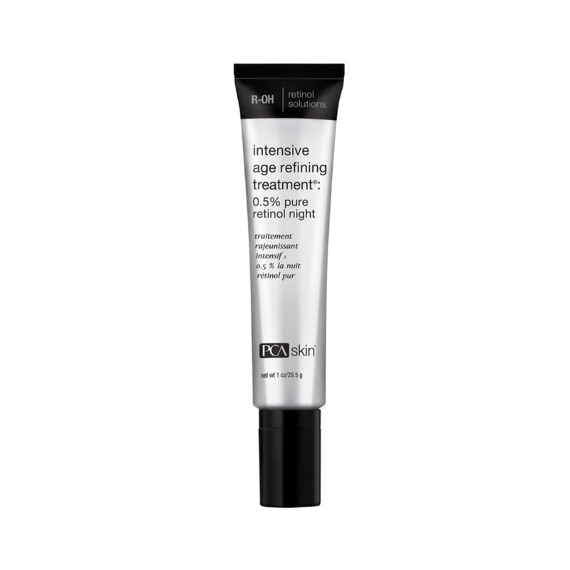 PCA SKIN Intensive Age Refining Treatment 0.5% pure retinol night buy online Exclusive Beauty Club shop