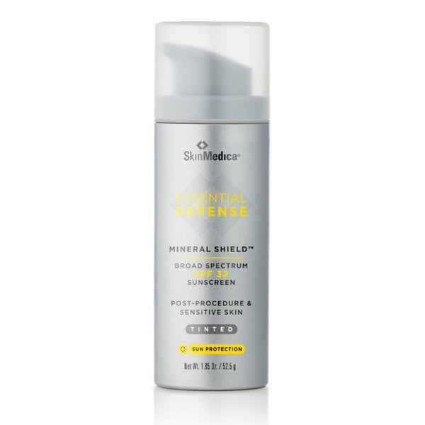 Skin Medica Essential Defense Mineral Shield SPF 32 Sunscreen Tinted  Exclusive Beauty Club Shop Online