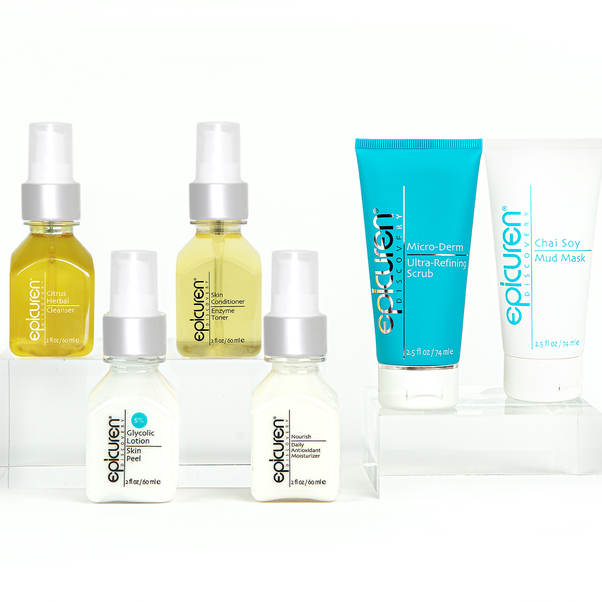 epicuren discovery facial to go kit shop at exclusive beauty club