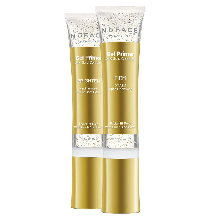 NuFace Gel Primer 24K Gold Primer Exclusive Beauty Club Facial Tools