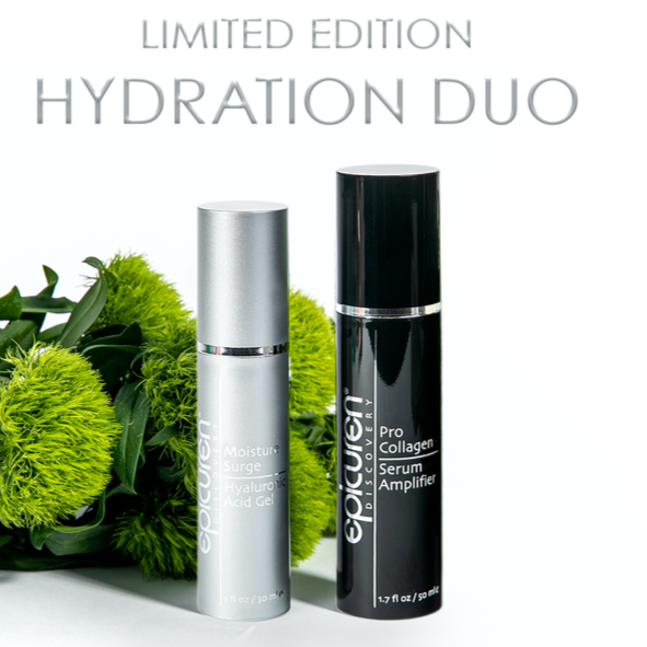 Epicuren Limited Edition Hydration Duo shop at exclusive beauty club