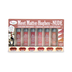 theBalm Meet Matte Hughes 6-Piece Mini Kit NUDES