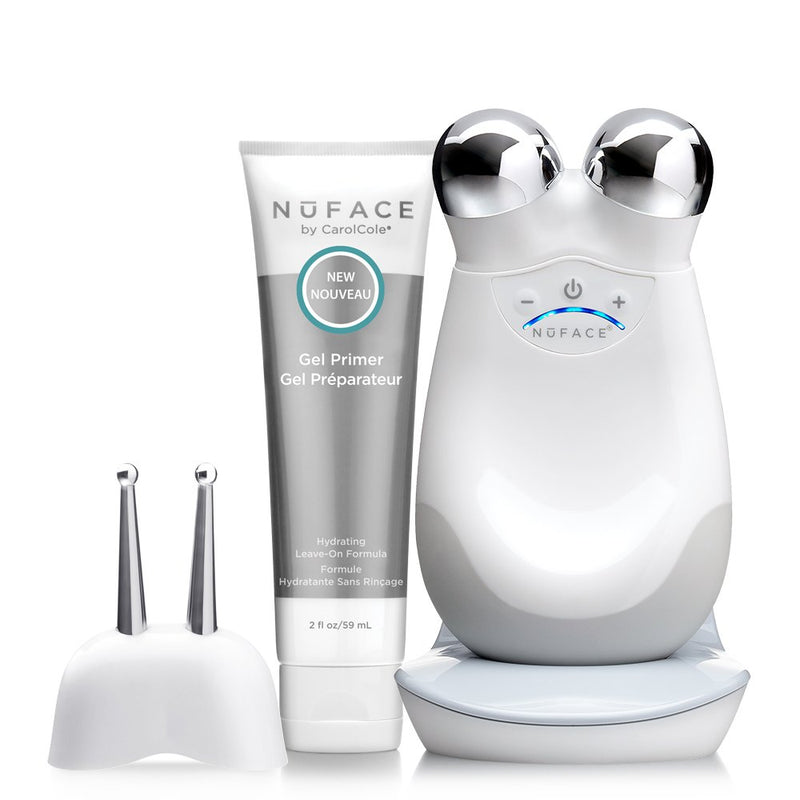 Nuface Trinity Precision Facial Toning Kit Shop on Exclusive Beauty Club Tool Devices