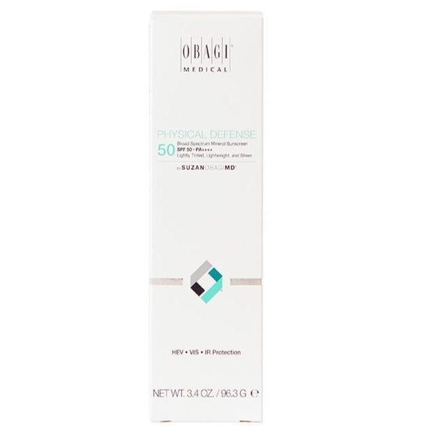 SUZANOBAGIMD Physical Defense Tinted Broad Spectrum SPF 50 Exclusive Beauty Club Skincare Store