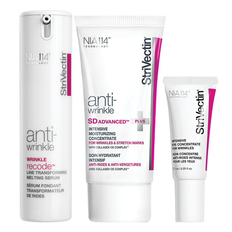 Exclusive Beauty Club StriVectin Power Starters Anti-Wrinkle Trio