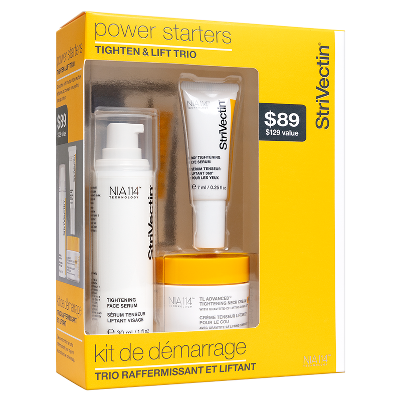 Exclusive Beauty Club StriVectin Power Starters Tightening Trio