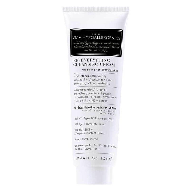 Exclusive Beauty Club VMV HYPOALLERGENICS Re-Everything Cleansing Cream