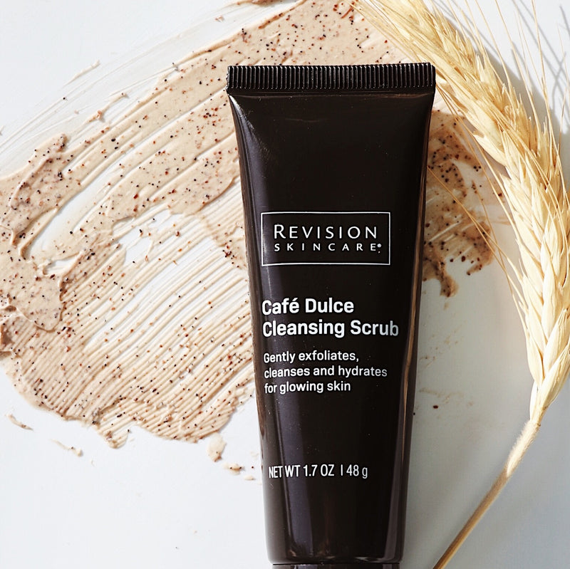 Revision Skincare Cafe Dulce Cleansing Scrub Limited Edition Shop Exclusive Beauty Club Skincare