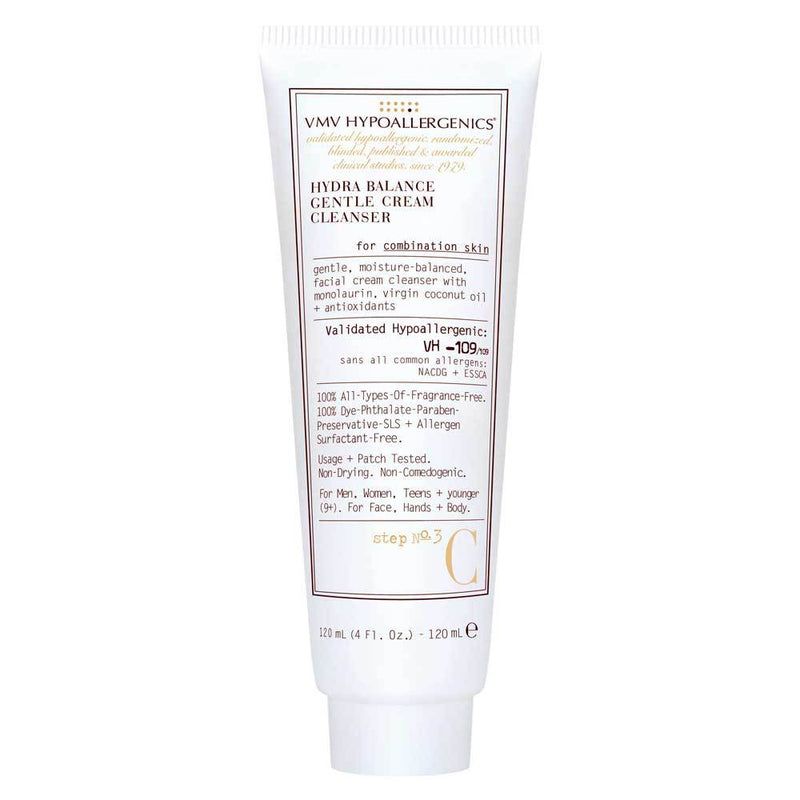 exclusive beauty club vmv hypoallergenics hydra balance gentle cream cleanser