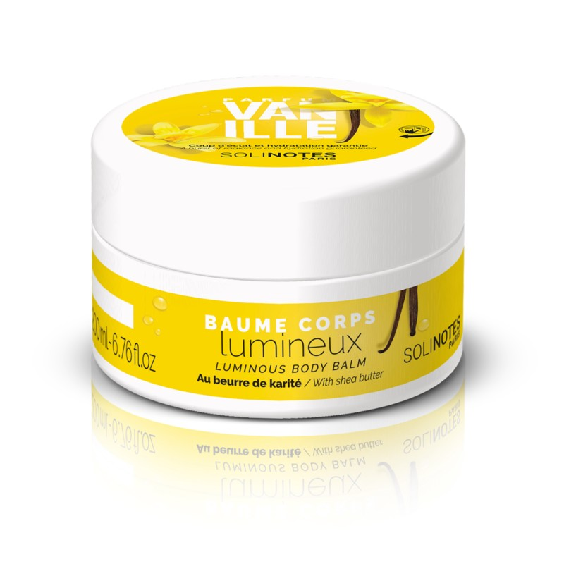 solinotes paris luminous body balm vanilla shop at exclusive beauty club