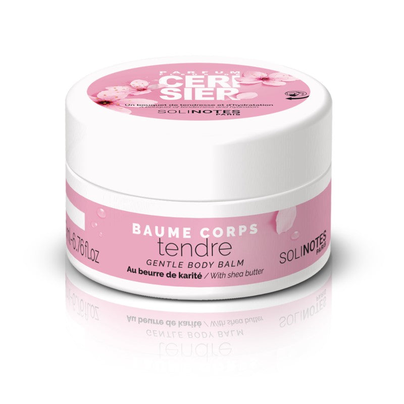 solinotes paris gentle body balm cherry blossom shop at exclusive beauty club