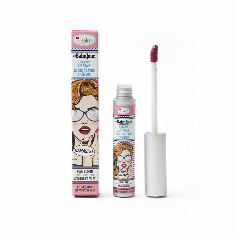 theBalm creamy lip stain Namaste color shop at exclusive beauty club
