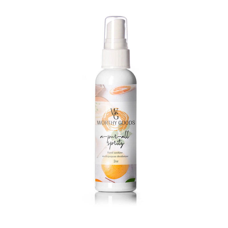 Worthy Goods A-pur-all Spritz Hand Sanitizer Shop On Exclusive Beauty Club