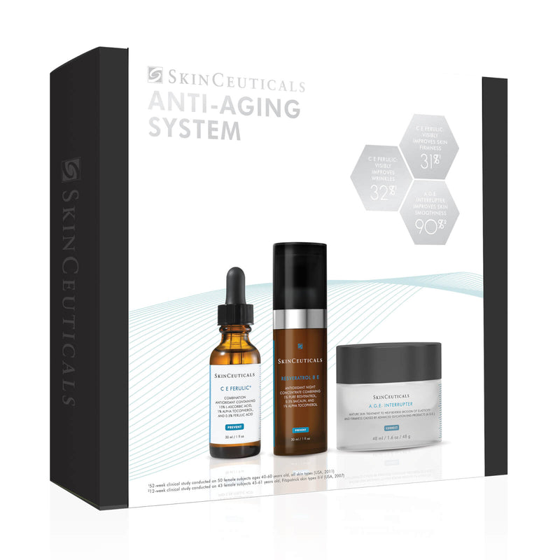 SkinCeuticals Anti-Aging System shop now Exclusive Beauty Club