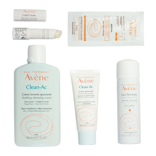 Avene Clean-Ac Soothing Blemish Kit Shop Acne Treatment on Exclusive Beauty Club