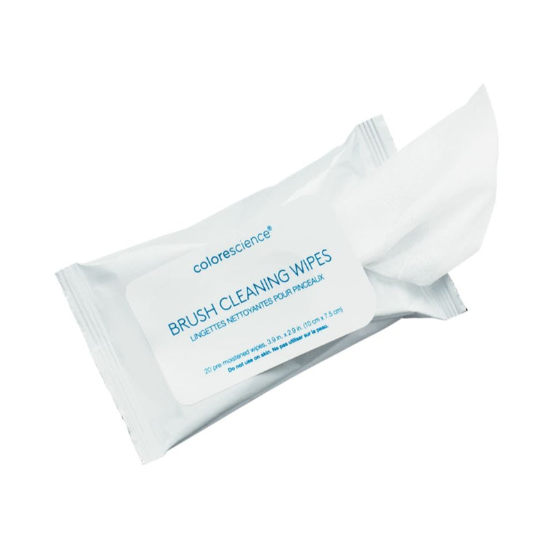 colorescience brush cleaning wipes shop at exclusive beauty club