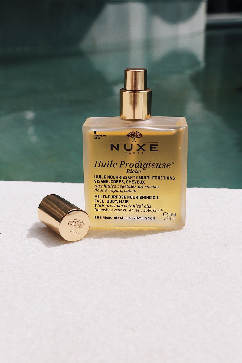 Nuxe Huile Prodigieuse Riche Oil Exclusive Beauty Club Body Face Hair Oil