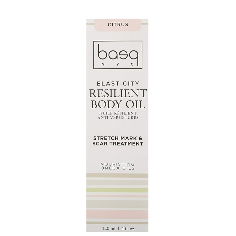 Exclusive Beauty Club Basq Skin Care Resilient Body Stretch Mark Oil Citrus