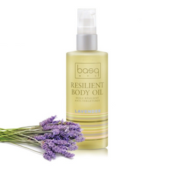 Exclusive Beauty Club Basq Skin Care Resilient Body Stretch Mark Oil Lavender