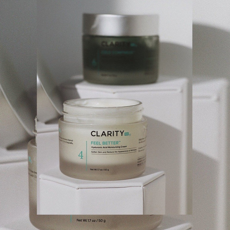 Clarity Feel Better Hyaluronic Acid Moisturizing Cream Exclusive Beauty Club Skincare