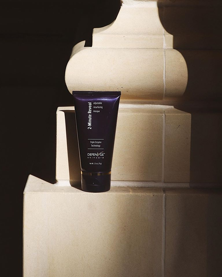 DefenAge 2-Minute Reveal Masque Face Treatment Exclusive Beauty Club