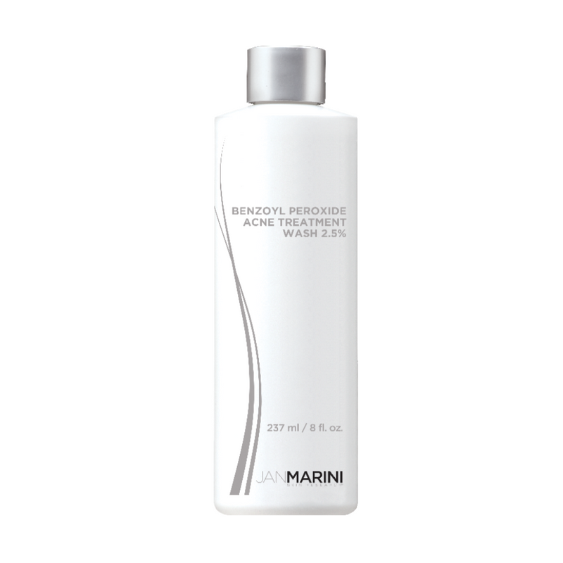 exclusive beauty club Jan Marini Benzyol Peroxide 2.5% Acne Treatment Wash