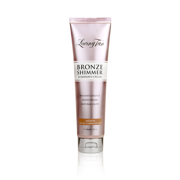 exclusive beauty club LOVING TAN BRONZE SHIMMER LUMINOUS CREAM