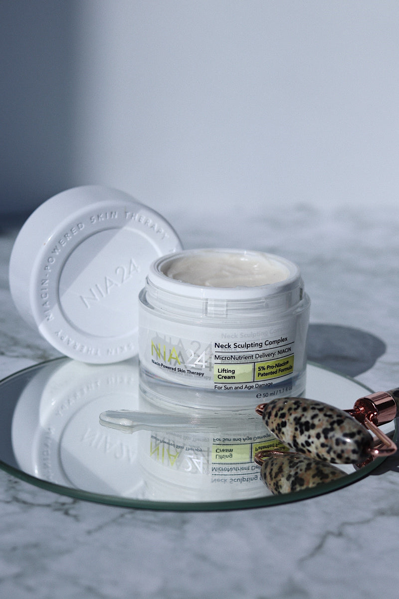 NIA24 Neck Sculpting Complex on Exclusive Beaut Club skincare
