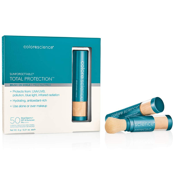 Colorescience Sunforgettable Total Protection Brush-on Shield SPF 50 Multi-Pack