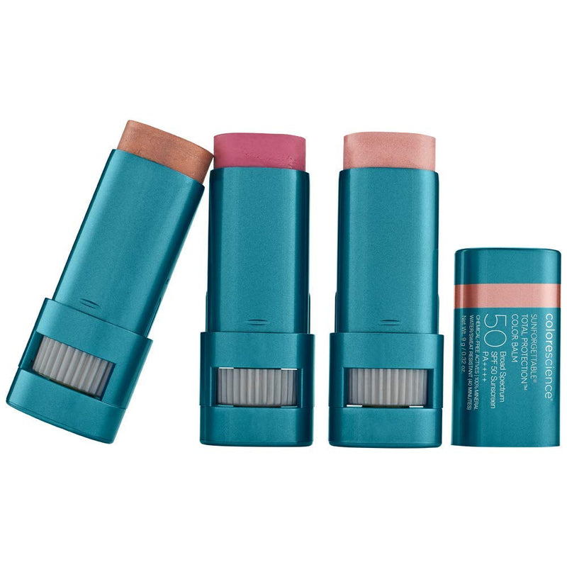 Colorescience Sunforgettable Total Protection Color Balm SPF 50 Collection