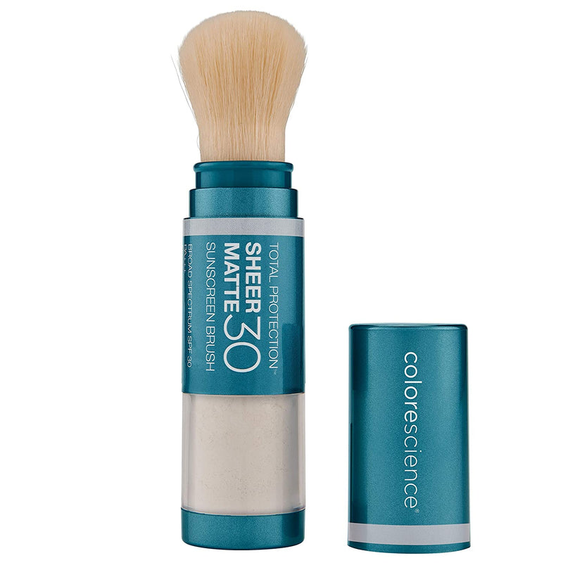 Colorescience Sunforgettable Total Protection Sheer Matte SPF 30 Sunscreen Brush