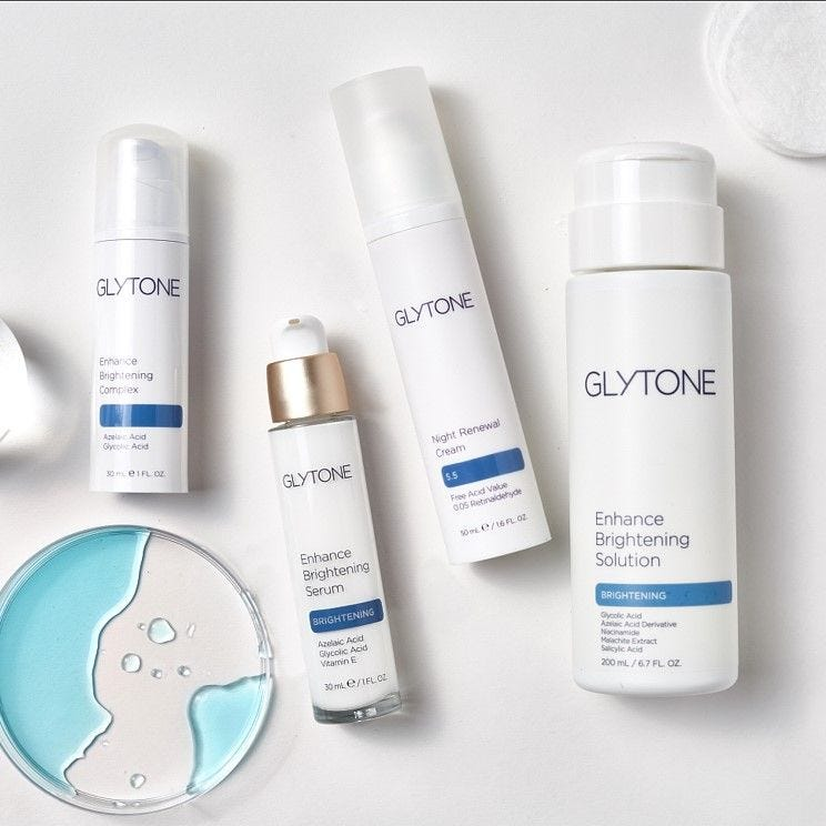 Glytone Enhance Brightening Solution Shop Skincare Exclusive Beauty Club