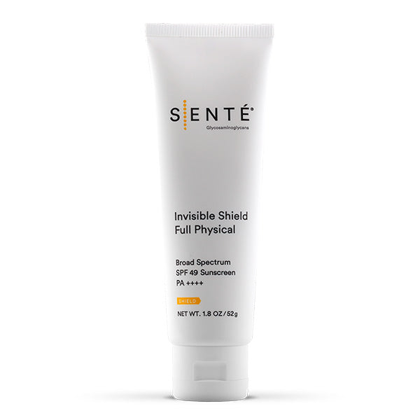 SENTE Invisible Shield Full Physical - SPF 49 Untinted Shop sunscreen Exclusive Beauty Club