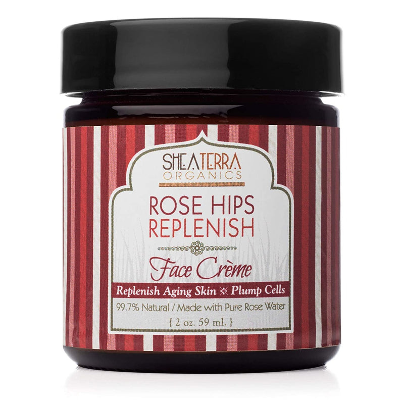 shea terra organics rose hips replenish face cream shop on exclusive beauty club