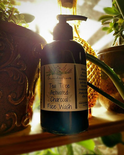 Tea Tree Activated Charcoal Face Wash