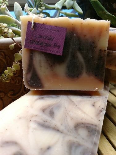 Lavender Lemongrass Bar