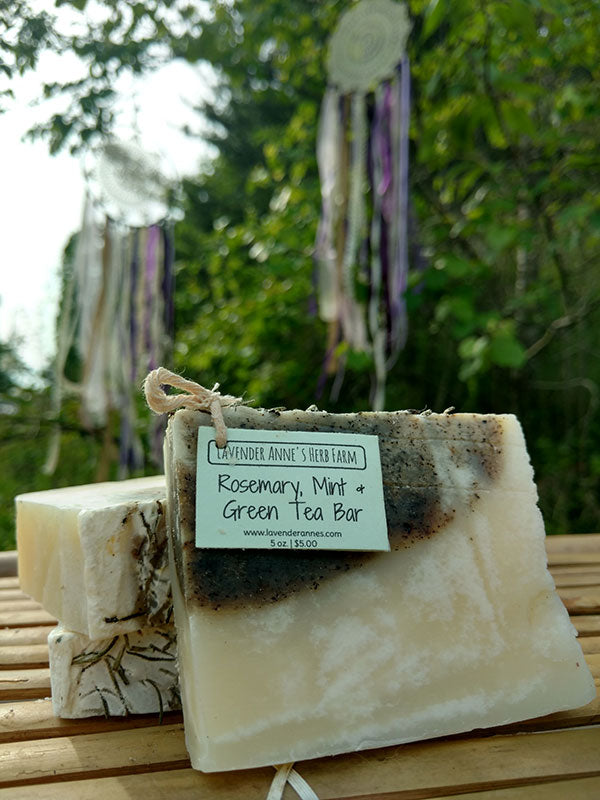 Rosemary, Mint & Green Tea Bar