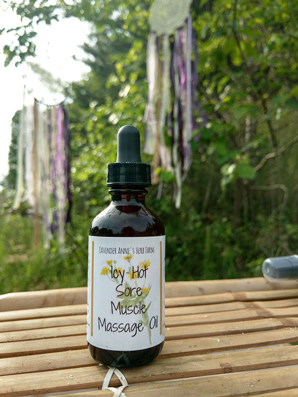 Icy Hot Sore Muscle Massage Oil