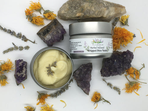 Herbal Infused Whipped Shea Butter
